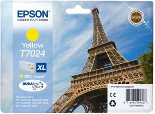 Epson T7024, Cartuccia d'inchiostro giallo, 2'000 pagine
