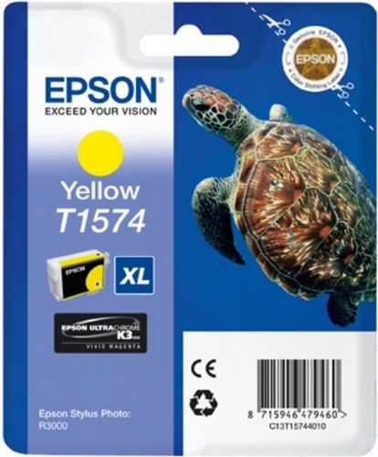 Epson T1574, TPA yellow, 25.9ml