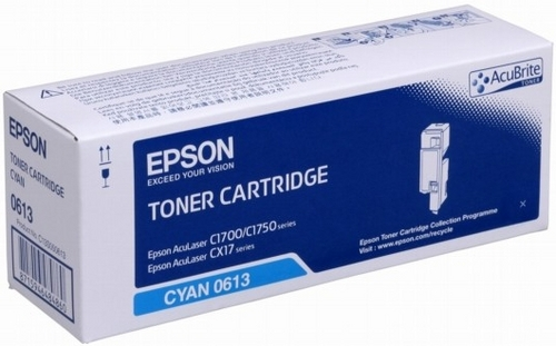 Epson S050613, Toner cyan, 1'400 pages