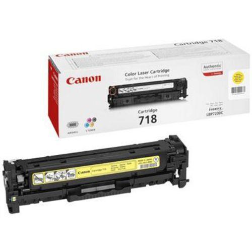Canon 718, Toner yellow, 2'900s
