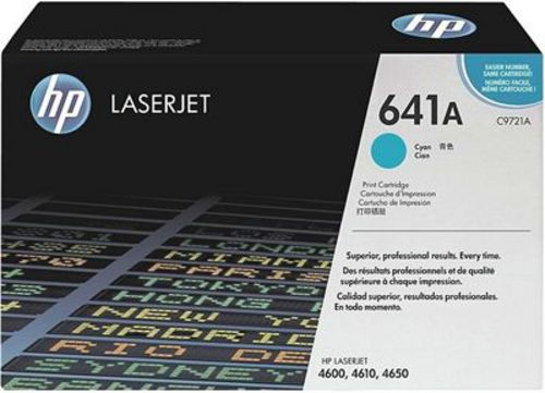 HP C9721A, Toner cyan 8'000 pages