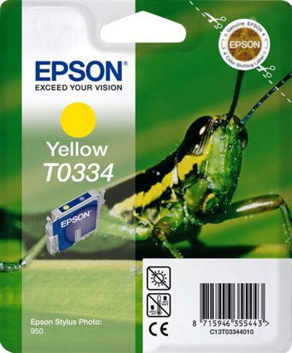 Epson T03344010, Cartuccia d'inchiostro giallo, 17ml (33135) 440 pagine