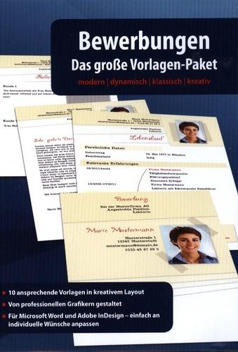 Bewerbungen - Das grosse Vorlagen-Paket