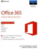 Office 365 Home Abonnement 1 Jahr