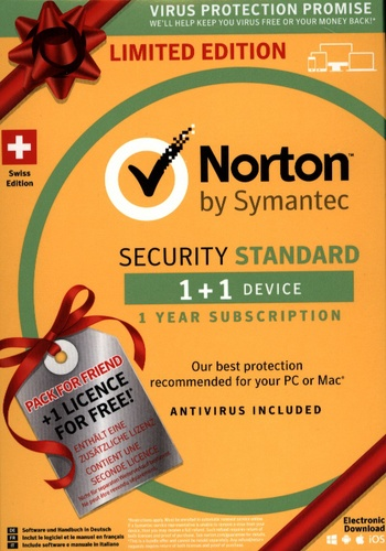 Norton Security 3.0 1+1 Device