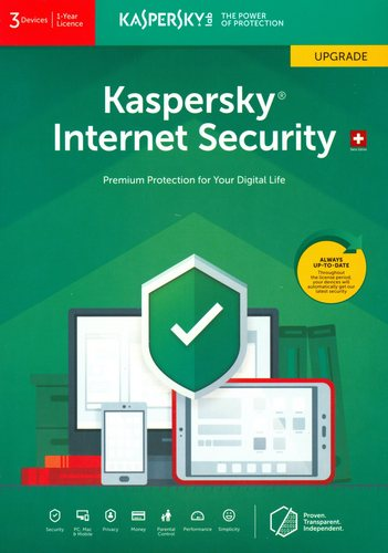 Kaspersky Internet Security (3 PC) Upgrade