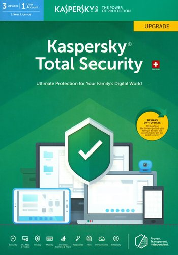 Kaspersky Total Security (3 PC) Upgrade