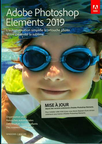 Photoshop Elements 2019 Upgrade