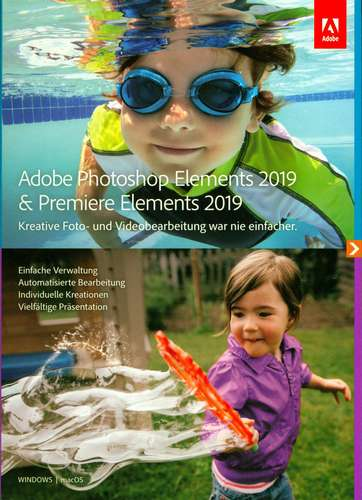 Photoshop Elements 2019 & Premiere Elements 2019
