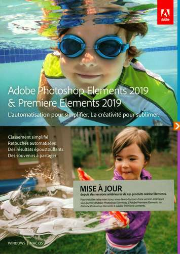 Photoshop Elements 2019 & Premiere Elements 2019 Upgrade