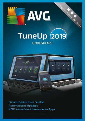 AVG TuneUp 2019 [unbegrenzte Lizenzen]
