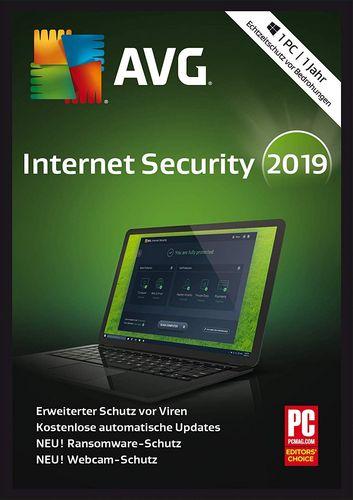 AVG Internet Security 2019 [1 Jahr]