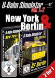 U-Bahn Simulator Vol. 1+2 - New York & Berlin [DVD]