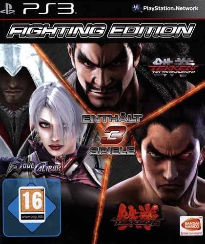Fighting Edition (S. Calibur + Tekken6 + TTT2)