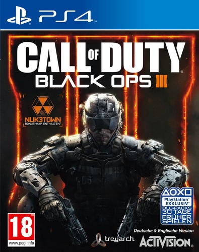Call of Duty: Black Ops III Day1 Edition inkl. Nuketown [PS4]