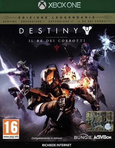 Destiny - Il Re dei Corrotti Edizione Leggendaria [XONE]