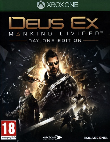 Deus Ex: Mankind Divided Day One Edition [XONE]