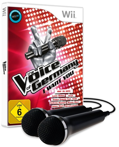 The Voice of Germany - I want you - inkl. 2 Mikros