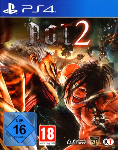 AoT 2 (based on Attack on Titan) [PS4]