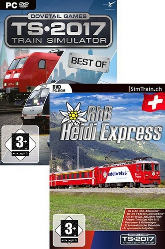 Train Simulator 2017 Best of & Heidi Express Bundle [DVD]