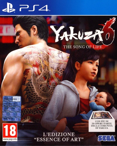 Yakuza 6: The Song of Life - L'Edizione Essence of Art [PS4]
