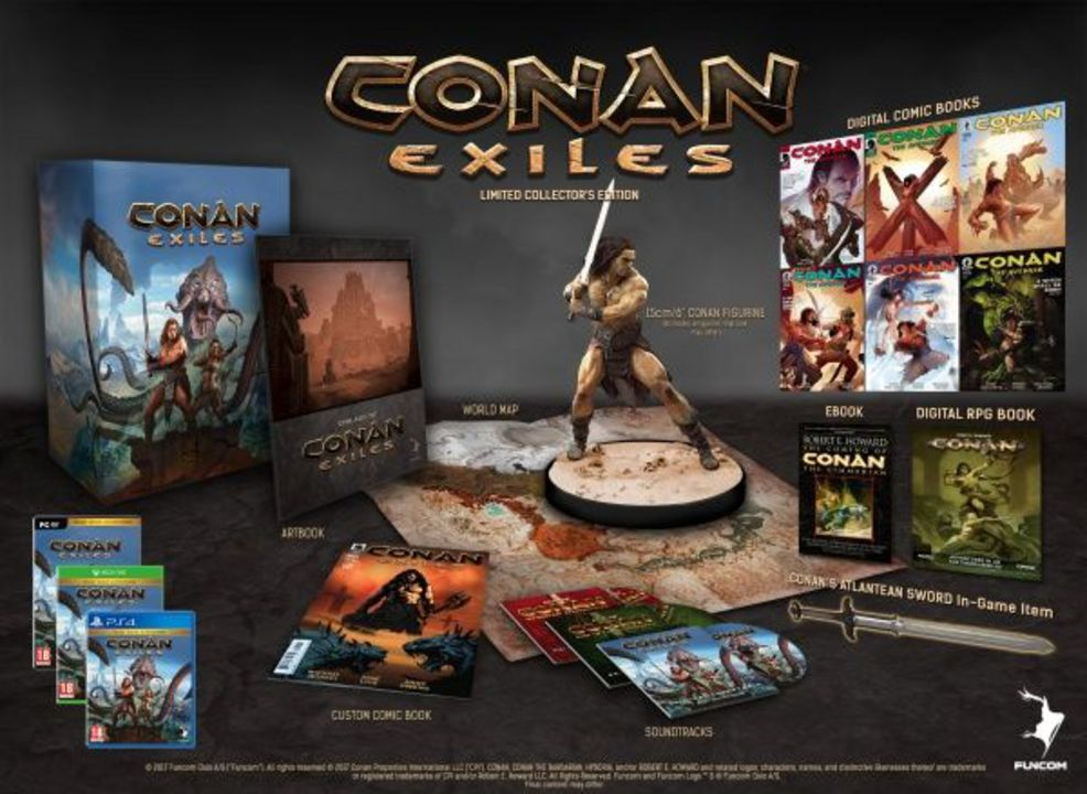 Conan Exiles Day One Edition [DVD] [PC] (D)