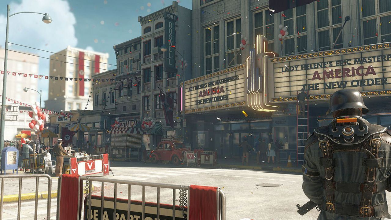 Wolfenstein II: The New Colossus [NSW] (D)