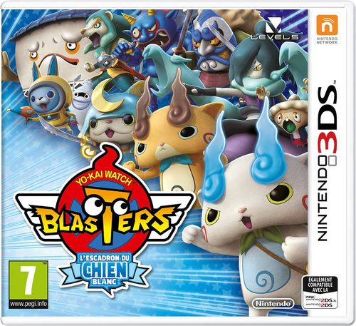 Yo-Kai Watch Blasters - L'Escadron du Chien Blanc