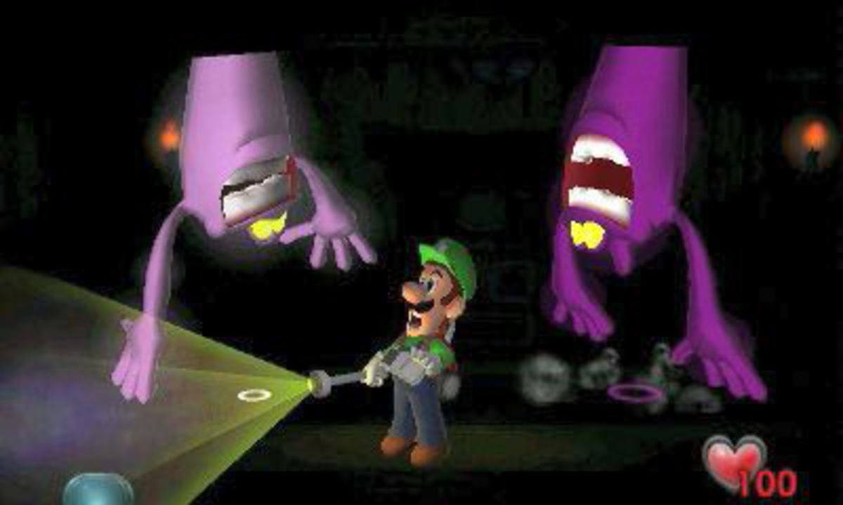 Luigi's Mansion [3DS] (D)