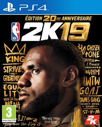 NBA 2K19 20th Anniversary Édition [PS4]