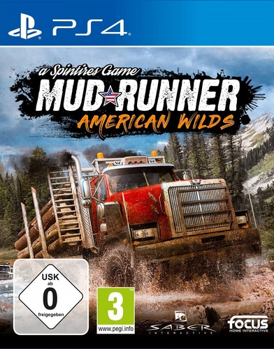 Spintires : MudRunner American Wilds Edition [PS4]