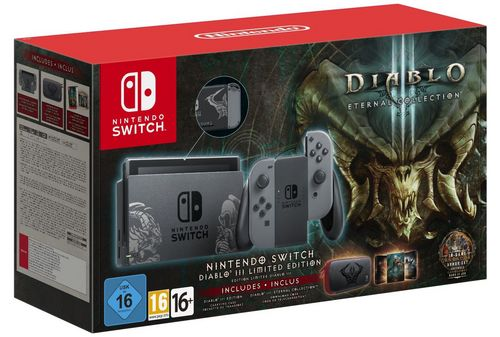 Nintendo Switch Console - Diabolo III Limited Edition [NSW]