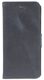 iPhone 7 / Valenta Leather Booklet Classic Luxe - vintage  blue