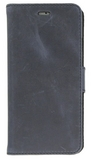 iPhone 7 Plus / Valenta Leather Booklet Classic Luxe - vintage blue