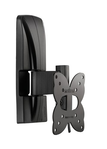 SlimStyle 100 ST - Supporto da parete per TV [14-25 pollici] - nero