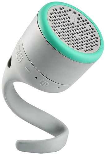 Polk Boom Swimmer JR BT Speaker - grey/mint