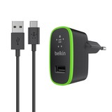 Home Charger [10W/2.1Amp] w/ USB-C Cable [1.8m] - black