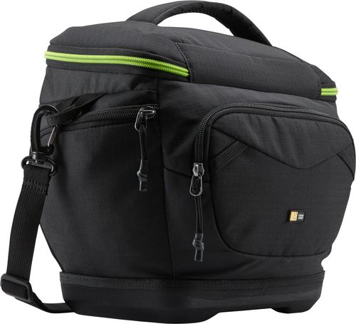 Case Logic Kontrast DSLR medium Shoulder Bag - black/green