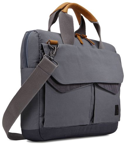 Case Logic LoDo Laptop Attaché [14 inch] - graphite