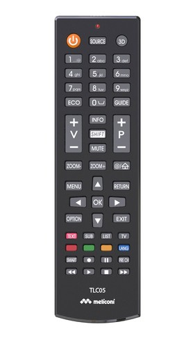 Replacement Remote Control THOMSON - black