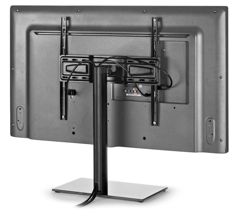 Stand 400 - Halterung für schwenkbares TV-Möbel [32-55 Zoll] - schwarz