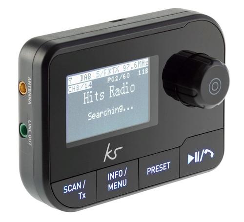 KitSound Car DAB+ Adapter