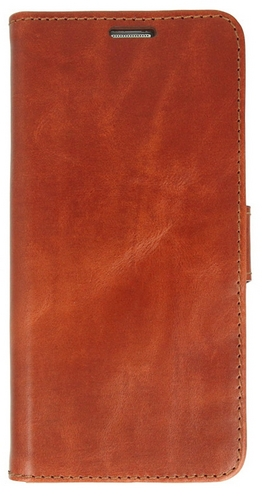 Galaxy S8 / Valenta Leather Booklet Classic Luxe - brown