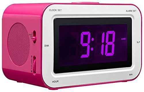Bigben - Alarm Clock Radio RR30 - Kids [pink]