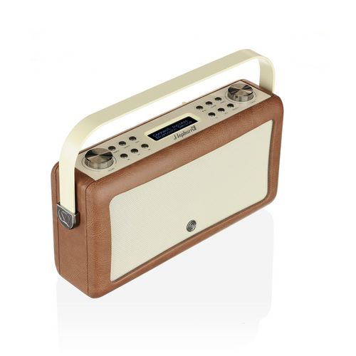 VQ Hepburn MkII DAB+/ BT Radio - brown