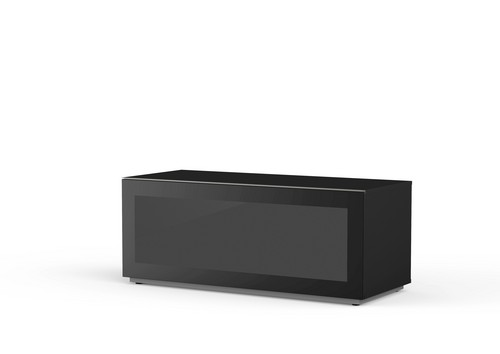 MyTv Stand 12050F - Meuble TV - Glass Black
