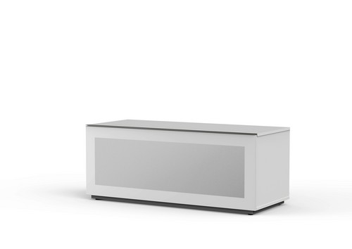 MyTv Stand 12050F - TV-Möbel - Glass White