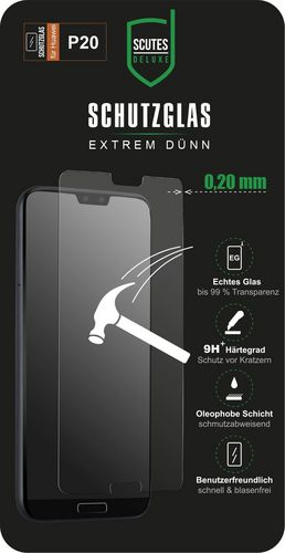 Scutes Glass Screen Protector - Huawei P20