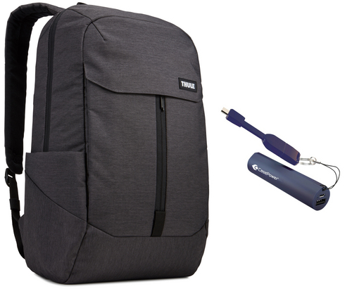 Thule Lithos Backpack [15 inch] 20L Bundle - black