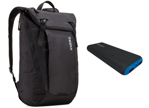 Thule EnRoute Backpack [15 inch] 20L Bundle - black